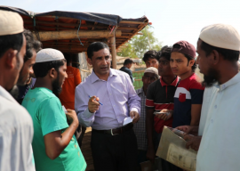 Prominent Rohingya leader shot dead in Bangladesh refugee camp