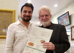 US Muslim restaurant owner serves people and God
