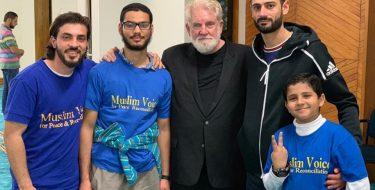 Al Noor Mosque, Christchurch, New Zealand: We went to comfort, but they comforted us!