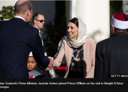 BBC: Prince William tells New Zealanders, 'you stood up' to attacks